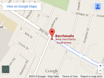 Bacchanalia Mill Road Map