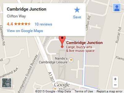 Cambridge Junction Map
