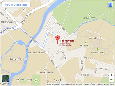 Maypole Map